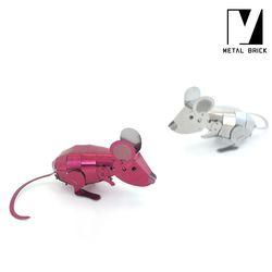 3D 이노 메탈 퍼즐 모형 마우스 (생쥐)