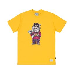 CATSGANG T-SHIRTS YELLOW
