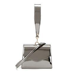 Dream On mini Handbag-Dark Silver