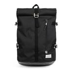 ROLL-TOP BACKPACK (black)