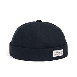 BS BRIMLESS CAP (navy)