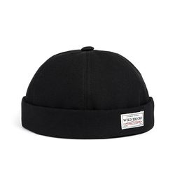 BS BRIMLESS CAP (black)