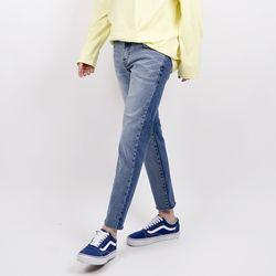 Front-back coloration jeans