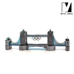3D 이노 메탈 퍼즐 건축 모형 런던타워브리지