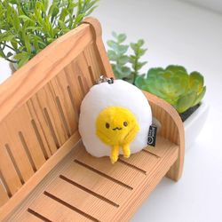 코튼푸드 계란 이어캡 6cm