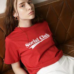 Social Club T (Red)