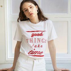Slogan T (White)