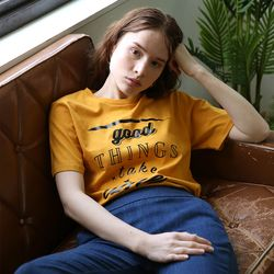 Slogan T (Yellow)