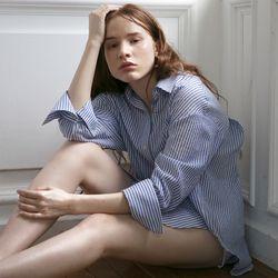 Stripe Cotton Shirt 2018