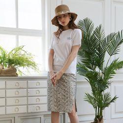 Midi Spangle Skirt