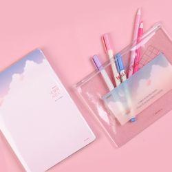 [1300K단독/무료배송] 트윙클 핑크 에디션세트 (네달의시간플래너+파우치M)
