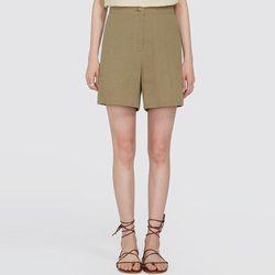 bloom linen half pants (s m)
