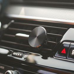 차량용방향제 겸 차량용핸드폰 자석거치대 60days Set
