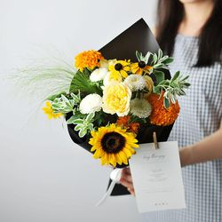 꽃 정기구독 Medium size (1개월권 - 2회)