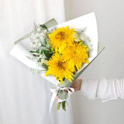 한 사람을 위한 마음 해바라기 꽃다발 (생화)