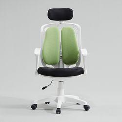 캐롤 의자 헤드레스트 일반형 화이트