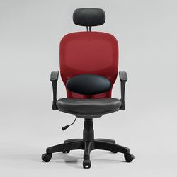 앙겔리 메쉬요추 의자 헤드레스트 일반형