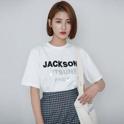 [로코식스] 호킹 라운드 티셔츠