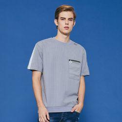 스트라이프 라이딩 티셔츠