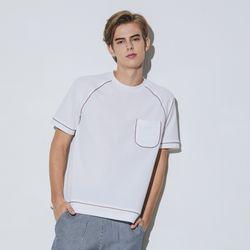 하미다시 트리밍 라그랑 티셔츠