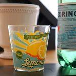 레몬에이드 : 유리컵