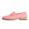 COW SUEDE PENNY LOAFER-PINK