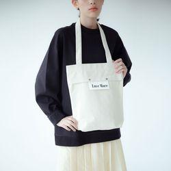 sister basic canvas bag (ivory)