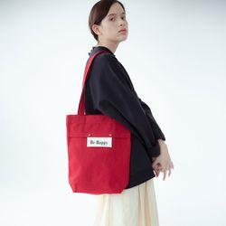 sister basic canvas bag (red)