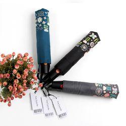 [더로라]기라로쉬 3단자동우산-꽃밭보더 E809