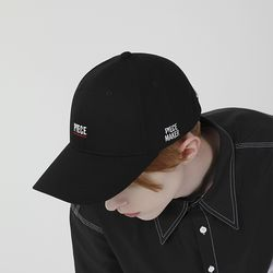 PIECE HARD 6P CAP (BLACK)