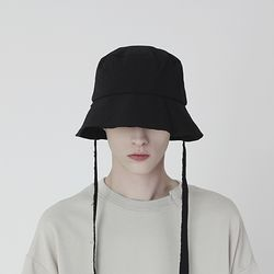 RAW WIDE LACE BUCKET (BLACK)