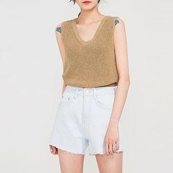dos weave sleeveless
