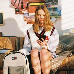 Ivy League Knit Vest (navy)