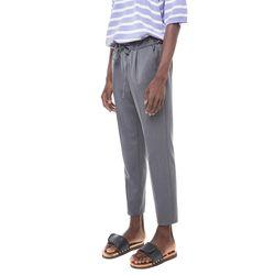 Mona mtr banding slacks (Grey)