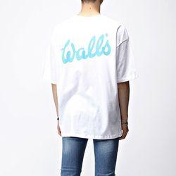 [매트블랙] 월스 박스 반팔 티셔츠