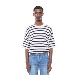 Sping stripe knit (Ivory)