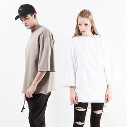 [6월15일 출고예정] 디테일 7부 티셔츠 NST-E032