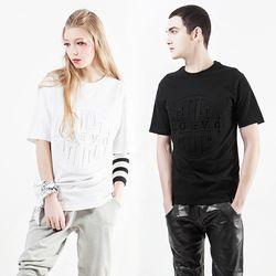 누에보 엠보싱 티셔츠 NST-E001