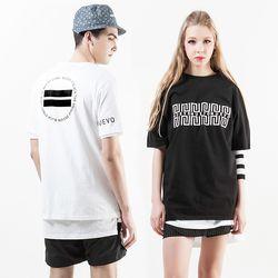 누에보 오리지널 로고 티셔츠 NST-E004