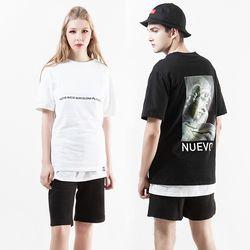 누에보 다비드 프린팅 티셔츠 NST-E005
