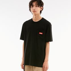 BD LOGO POCKET T-SHIRTS BLACK
