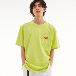 BD LOGO POCKET T-SHIRTS LIME