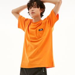 BD LOGO POCKET T-SHIRTS ORANGE