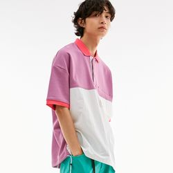 BD OVERSIZE POLO SHIRTS PURPLE