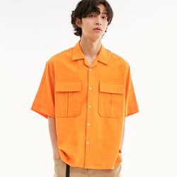 BD ALOHA SHIRTS ORANGE