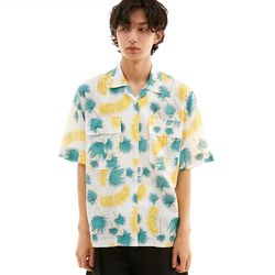 BD ALOHA SHIRTS TROPICAL WHITE