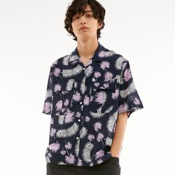 BD ALOHA SHIRTS TROPICAL NAVY