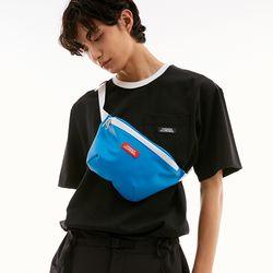 LOGO BELT BAG BLUE