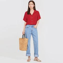 bling dot blouse