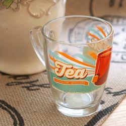 티 : 유리컵